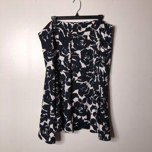 Jones New York Womens Floral A Line Skirt Size 18W